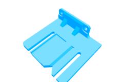 i3 Rework Z endstop bracket for E3D v6 Lite