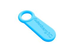 Gutenberg3D key chain