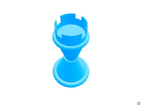 Morphi Rook Chess Piece