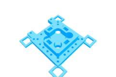 Ultimaker extruder leveling mechanism 2-4 extruders