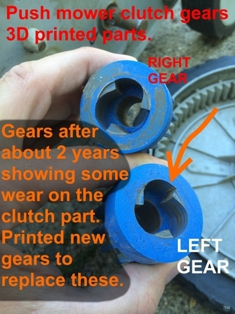 Lawn Mower Clutch Gears Replacement