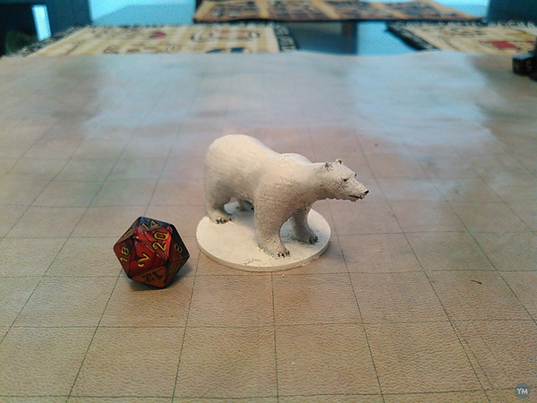 Polar Bear for Tabletop Gaming