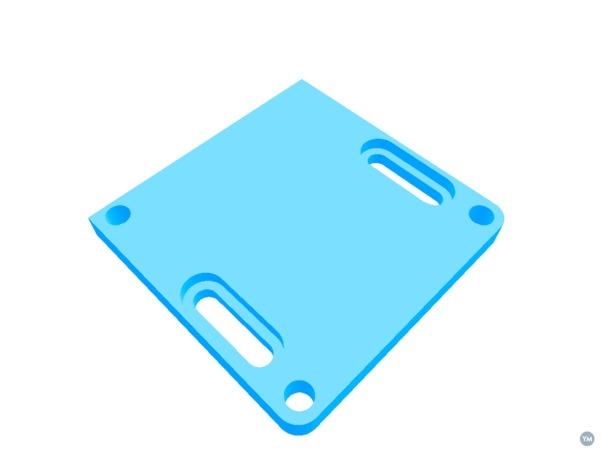 BCN3D Sigma E3DV6 Hotend Adapter
