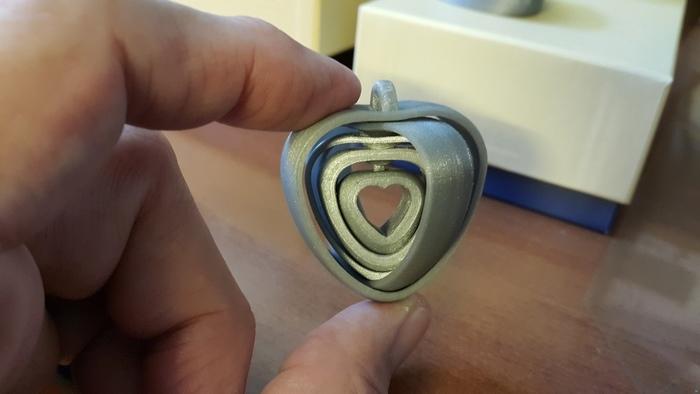 Coeurs tournants liés