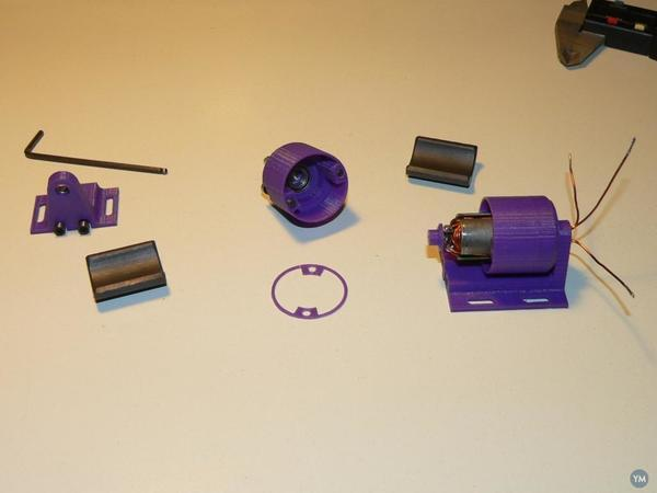 Printed Brushless 36900rpm - Warning explosion problem