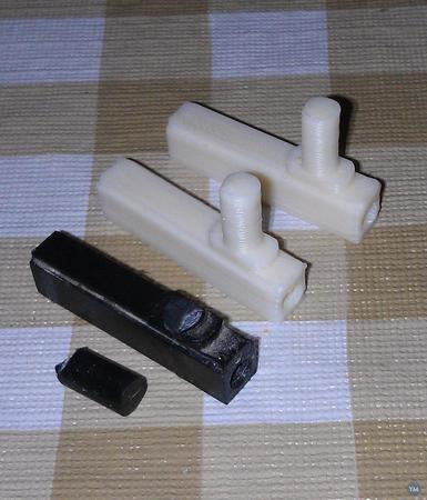 Shower door pivot / hinge replacement