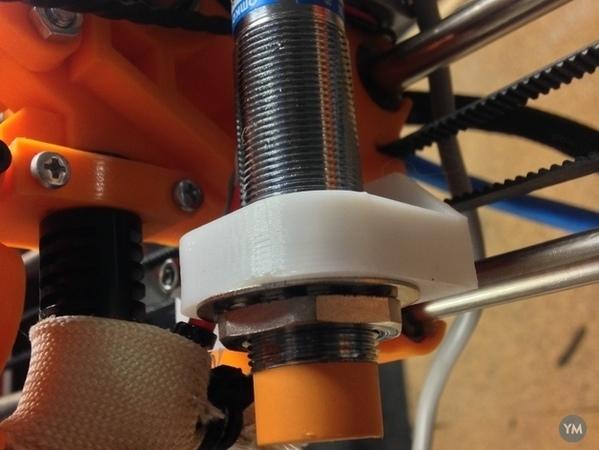 Capacitive sensor holder for Wilson RepRap