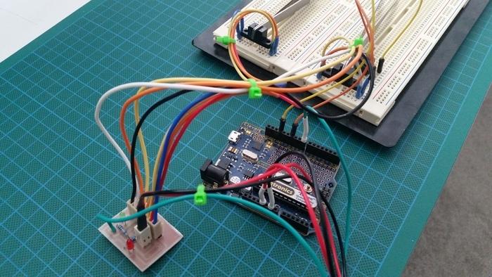 (Incomplete) e3D BgBox Jammed Fillament Sensor for Arduino