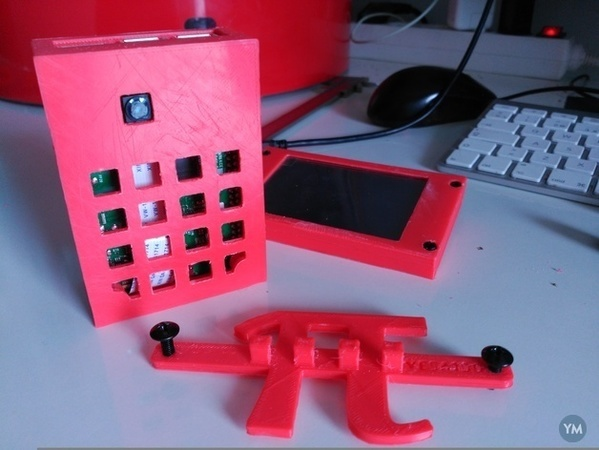 Raspberry Pi 3 case with Camera and Triborg+