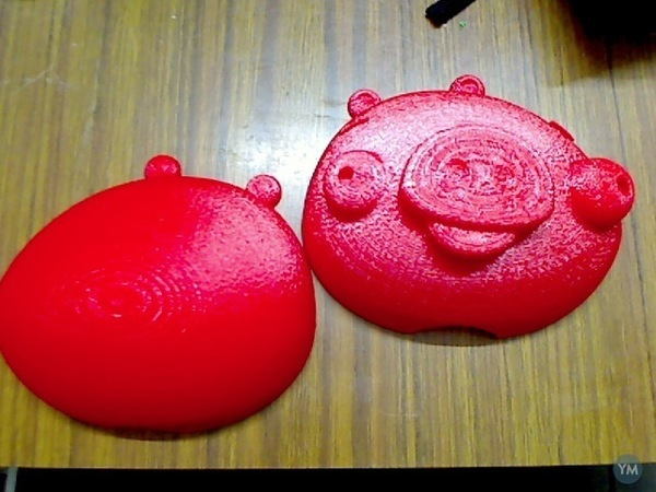 3D Printing for Charity- Angry Birds Piggy Bank