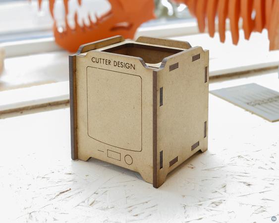 Ultimaker - Lasercut 3D Printer Miniature