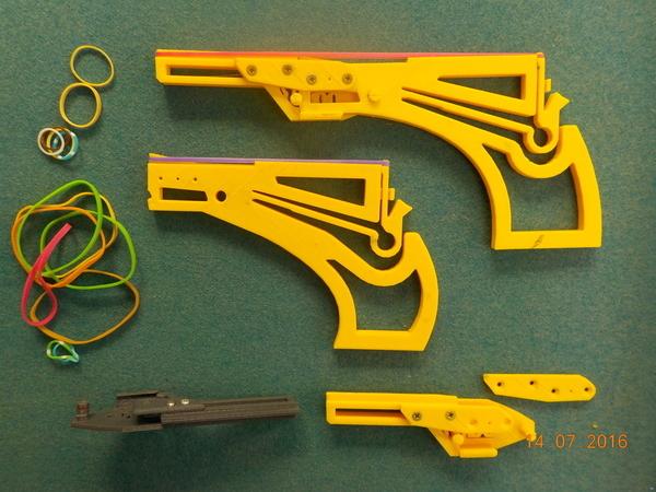 Pistolet à élastique -G2- Rubber Band Gun