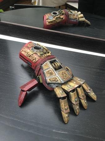 Steampunk Iron Man Hand