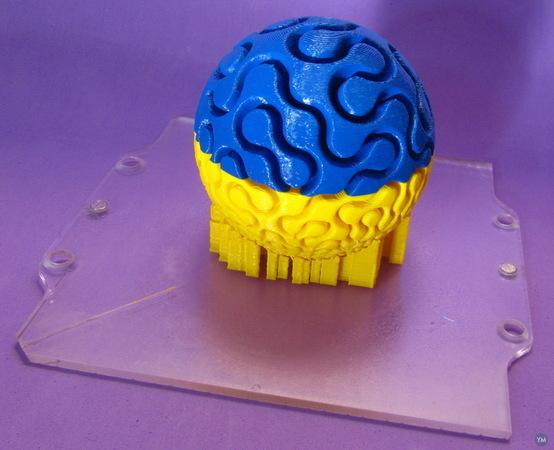 dIFS Fractal Maze Ball