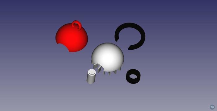 Keychain Pokeball