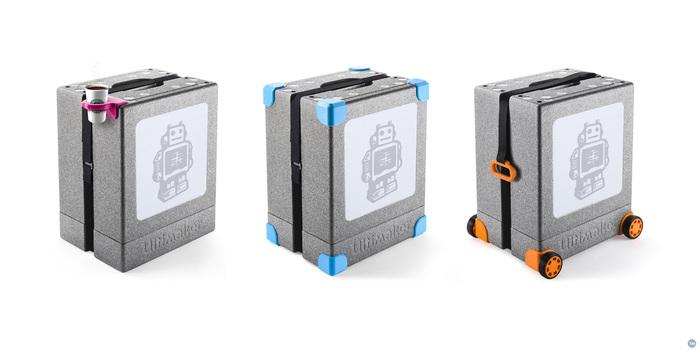 Ultimaker 2 Go Business card holder