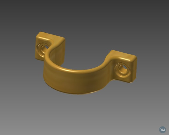 Flexible tube Brackets