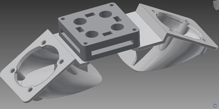 UMO 40mm fanduct for 3dSolex nozzles (modification)