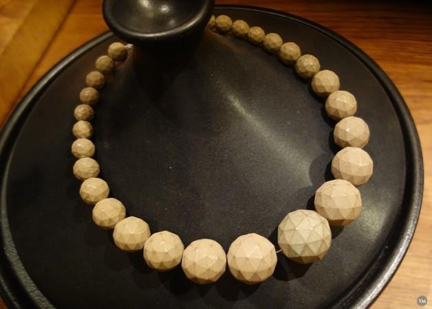 Icosphere necklace