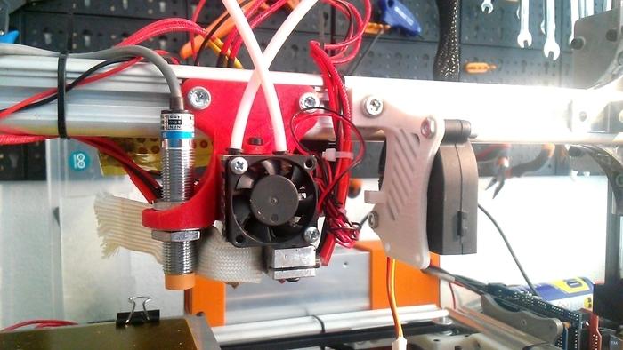 Cyclops/Chymera E3D extruder holder