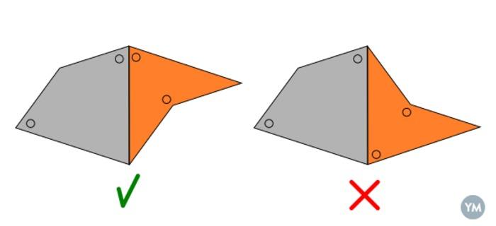 Penrose P2 tiles
