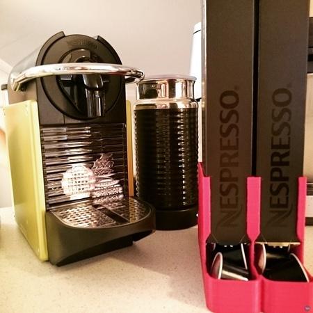 Nespresso cup dispenser