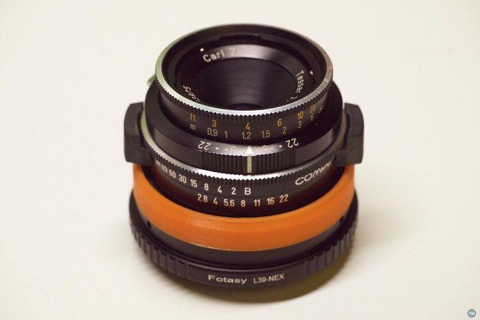 Rolleiflex SL26 lens to Sony Mirrorless adapter