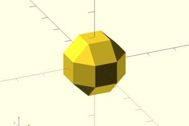 YouMagine – OpenSCAD Rhombicuboctahedron by ascii – YouMagine ❓