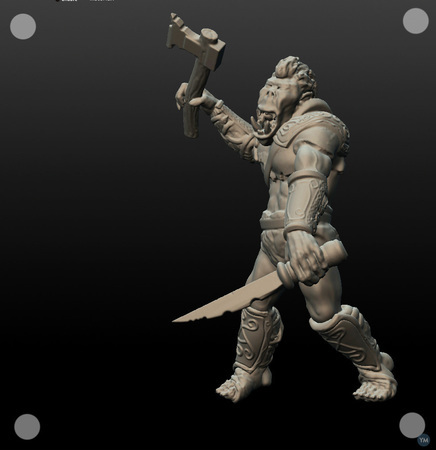 Orc 54mm