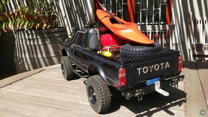Scale Kayak for RC Crawler