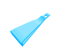 Rendering of Keychain Clip