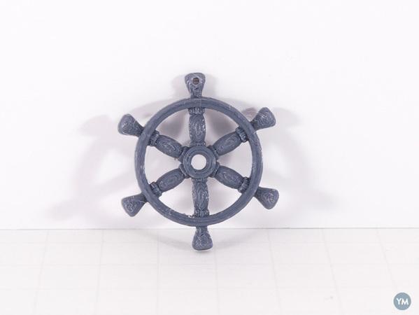 Ship Wheel Pendant