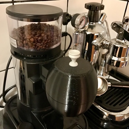 Coffee Container for La Pavoni coffee grinder