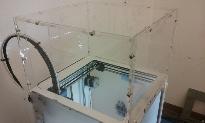 Acrylic cover for Ultimaker 2
