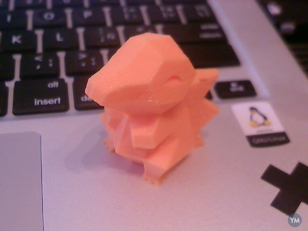Low-Poly Cyndaquil