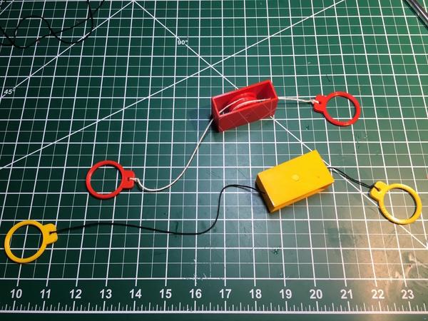 """String """"Climbing"""" Mechanism"""