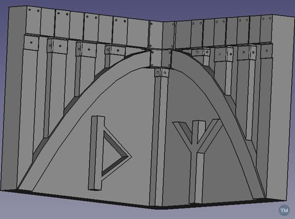 Viking Corner Trim