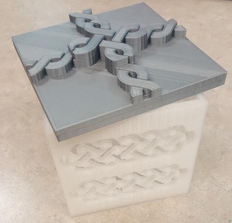 Viking Box and Lid