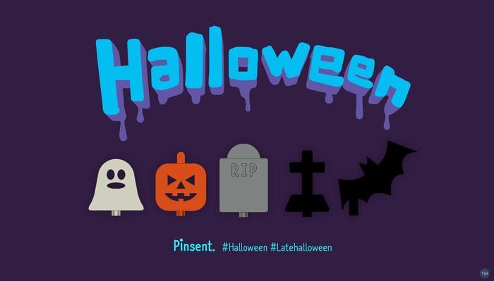 halloween Pinsent icons