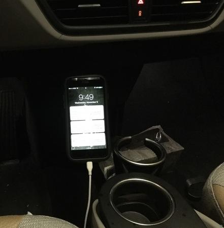 BMW i3 Magnetic Phone Mount