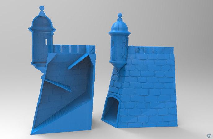 """Dice Tower """"La Garita del Castillo San Felipe del Morro"""""""
