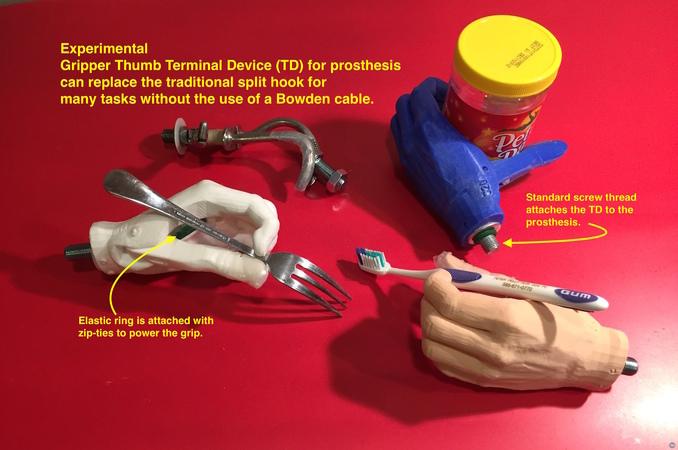 Gripper Thumb Terminal Device