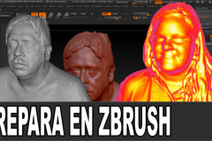Prepara Los 3d Scans En Zbrush Thumbnail
