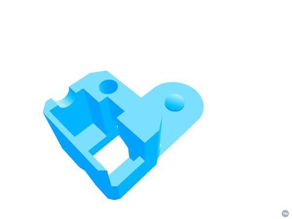 Hip Ball - For 3D printed Robot