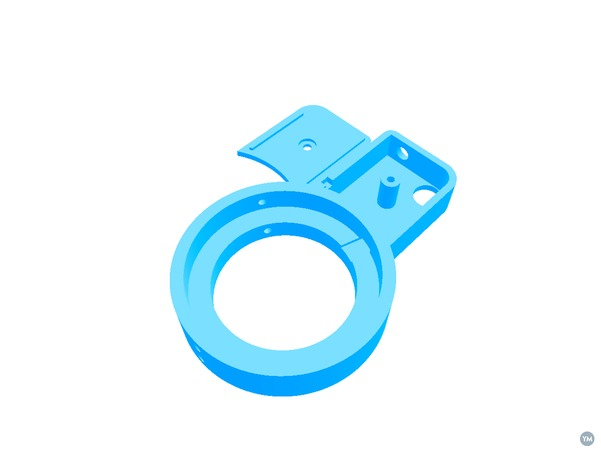 LED ring illuminator for inspection microscope