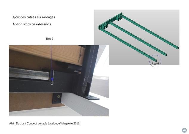 Table à rallonge - Extending table