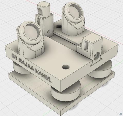 Stable Carriage & Proper Belt Tensioning & Flying Extruder V2