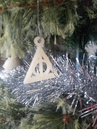 Deathly Hallows Ornament/Necklace