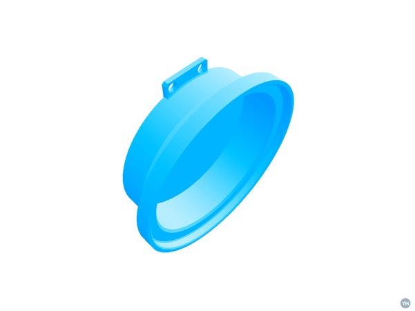 Bearing Cover for MKII 5 Watt 3D printable Wind Turbine