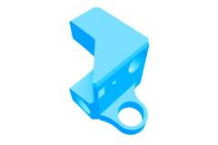 Rendering of Pinda Probe Adapter4